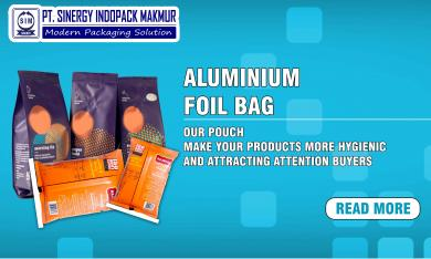 Keunggulan-Keunggulan Penggunaan Kemasan Produk Berbahan Lapis Alumunium Foil (Alufoil)
