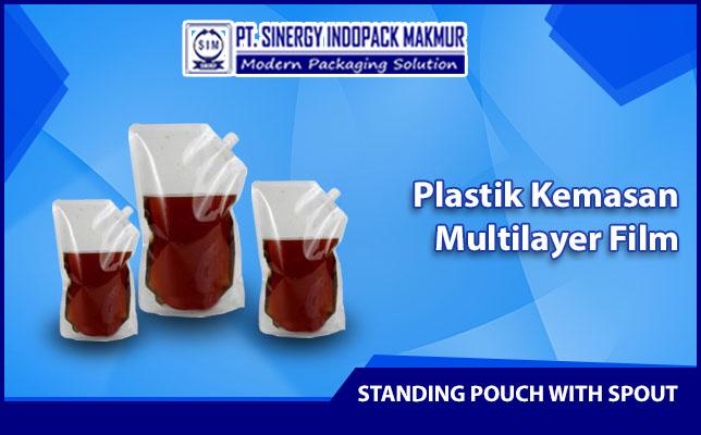Kemasan Plastik Standing Pouch dengan Spout