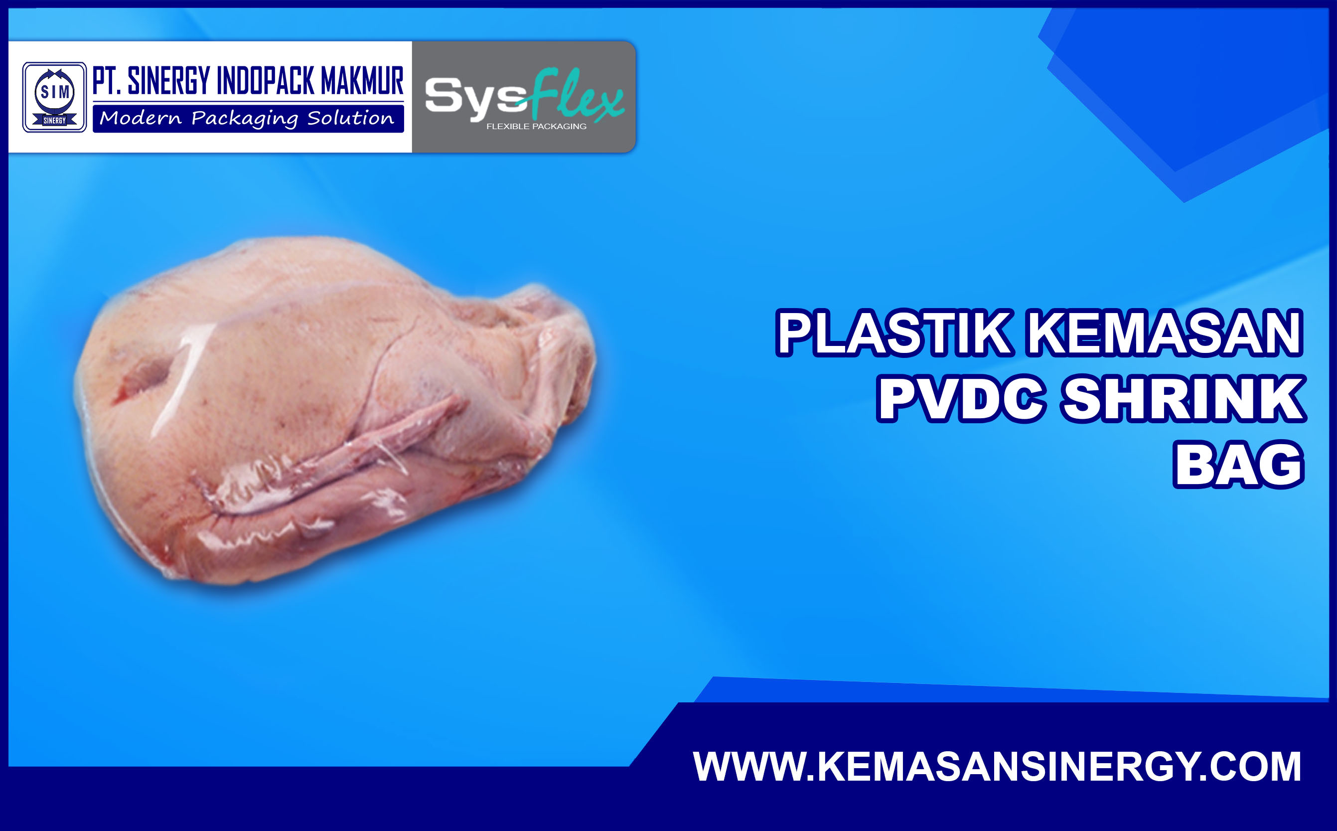 Plastik Kemasan PVDC Shrink Bag