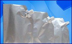 Kemasan Aluminium Foil (Alu Foil Standing Pouch dengan Spout)