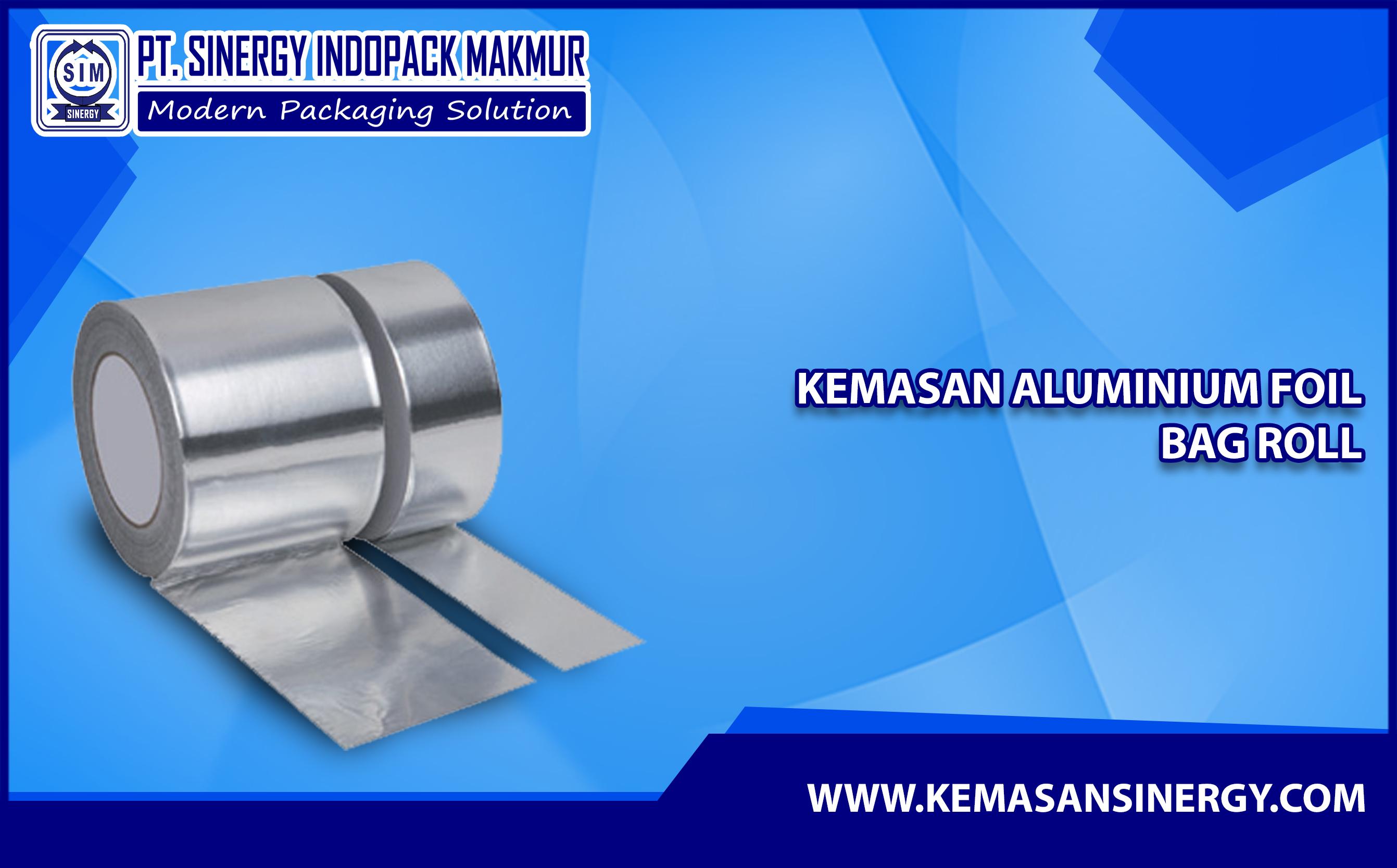 Kemasan Aluminium Foil Roll (Alufoil Roll)