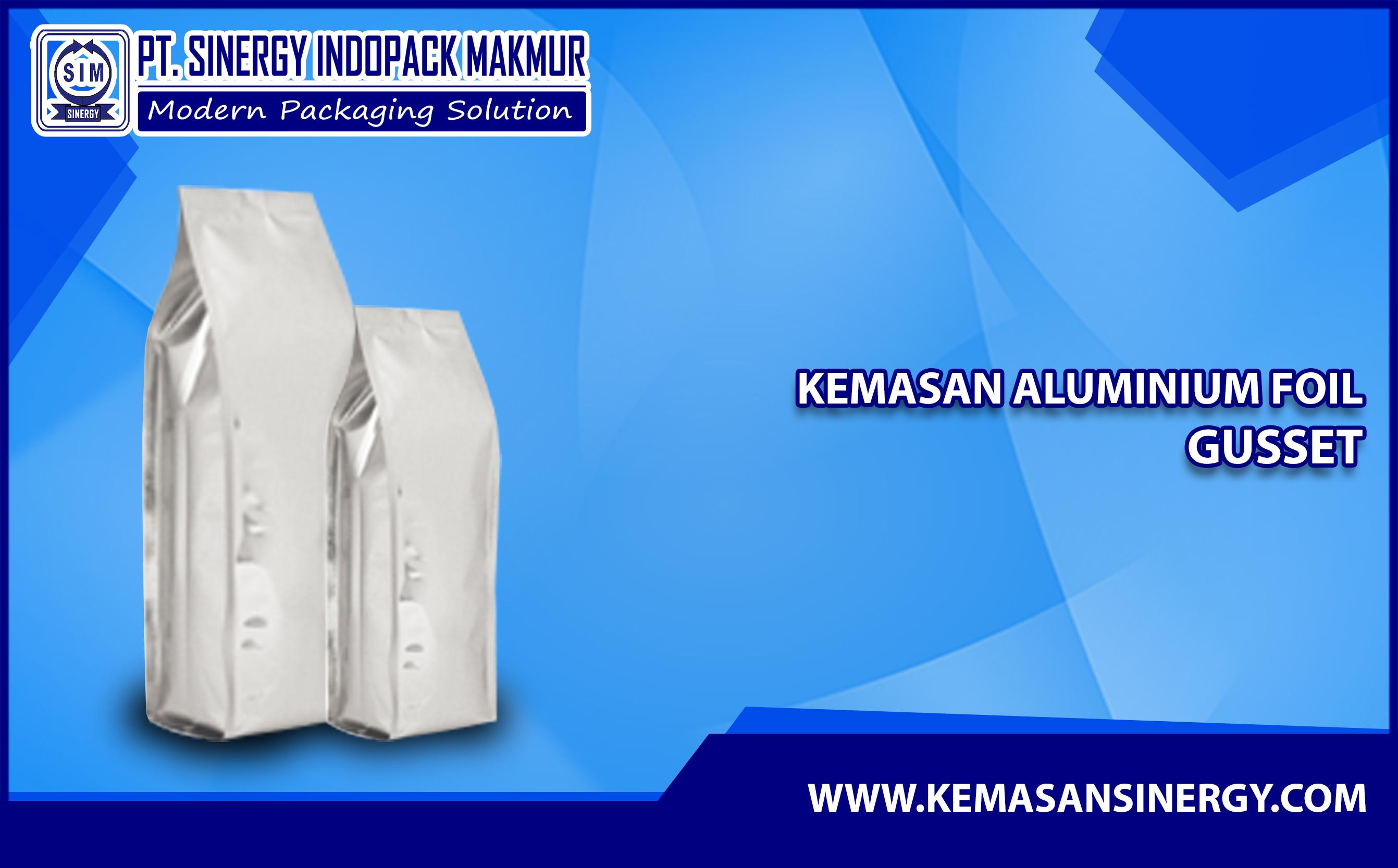 Kemasan Aluminium Foil (Alufoil Gusset)