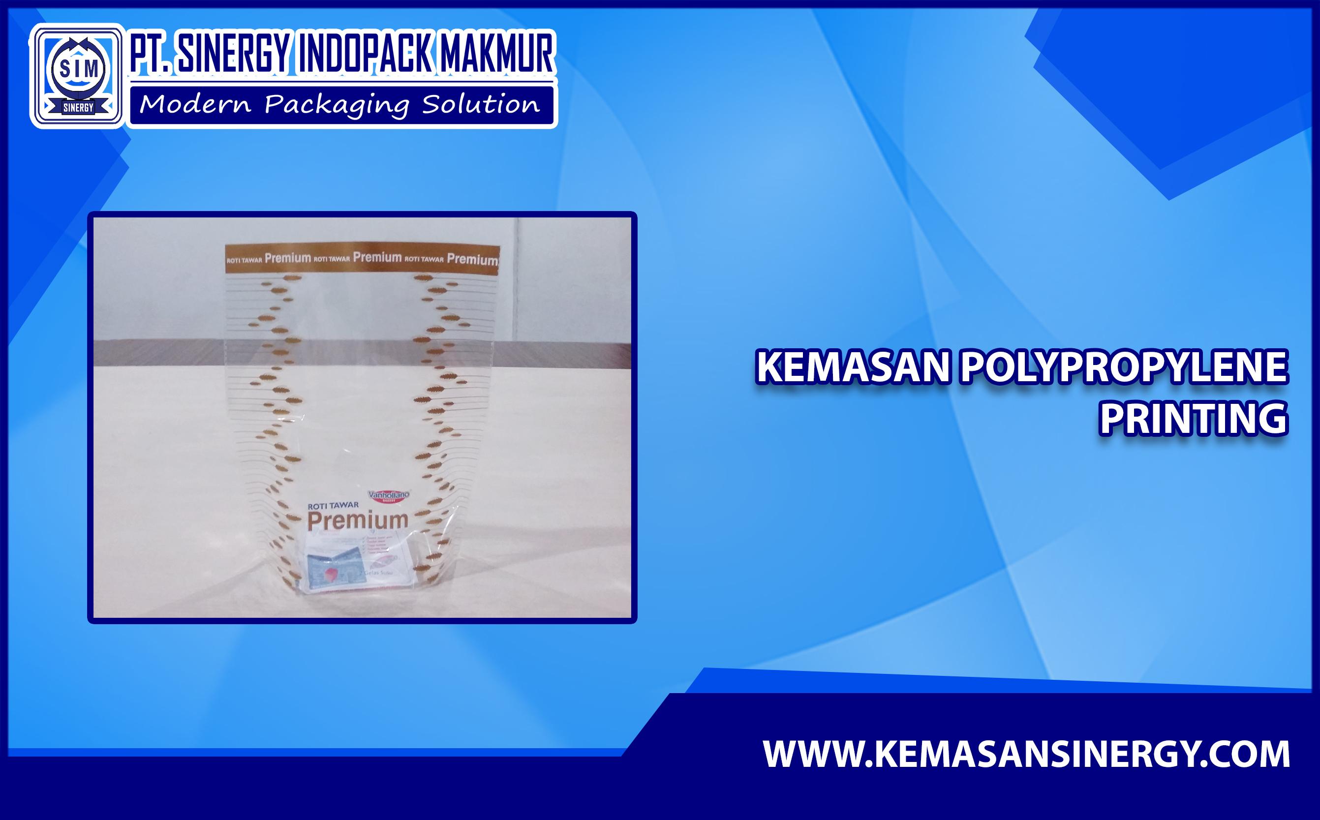 Kemasan Plastik Berbahan PP ( Polypropylene )