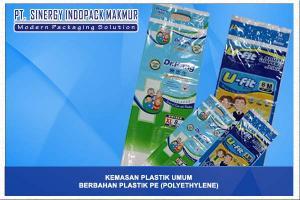 Kemasan Plastik Berbahan PE (Polyethylene)