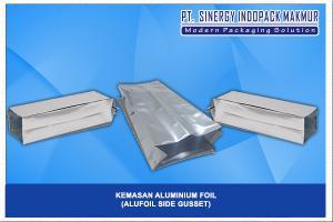 Kemasan Aluminium Foil (Alu Foil - Side Gusset)