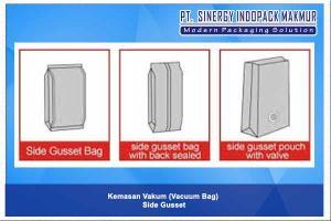 Kemasan Plastik Vakum Side Gusset (Vacuum Bag - Side Gusset)