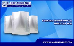 Kemasan Aluminium Foil (Alu Foil - Three Side Seal)