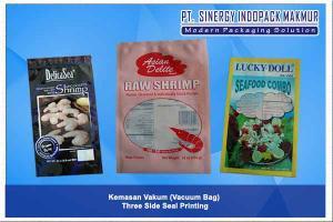Kemasan Plastik Vakum (Vacuum Bag - Three Side Seal)