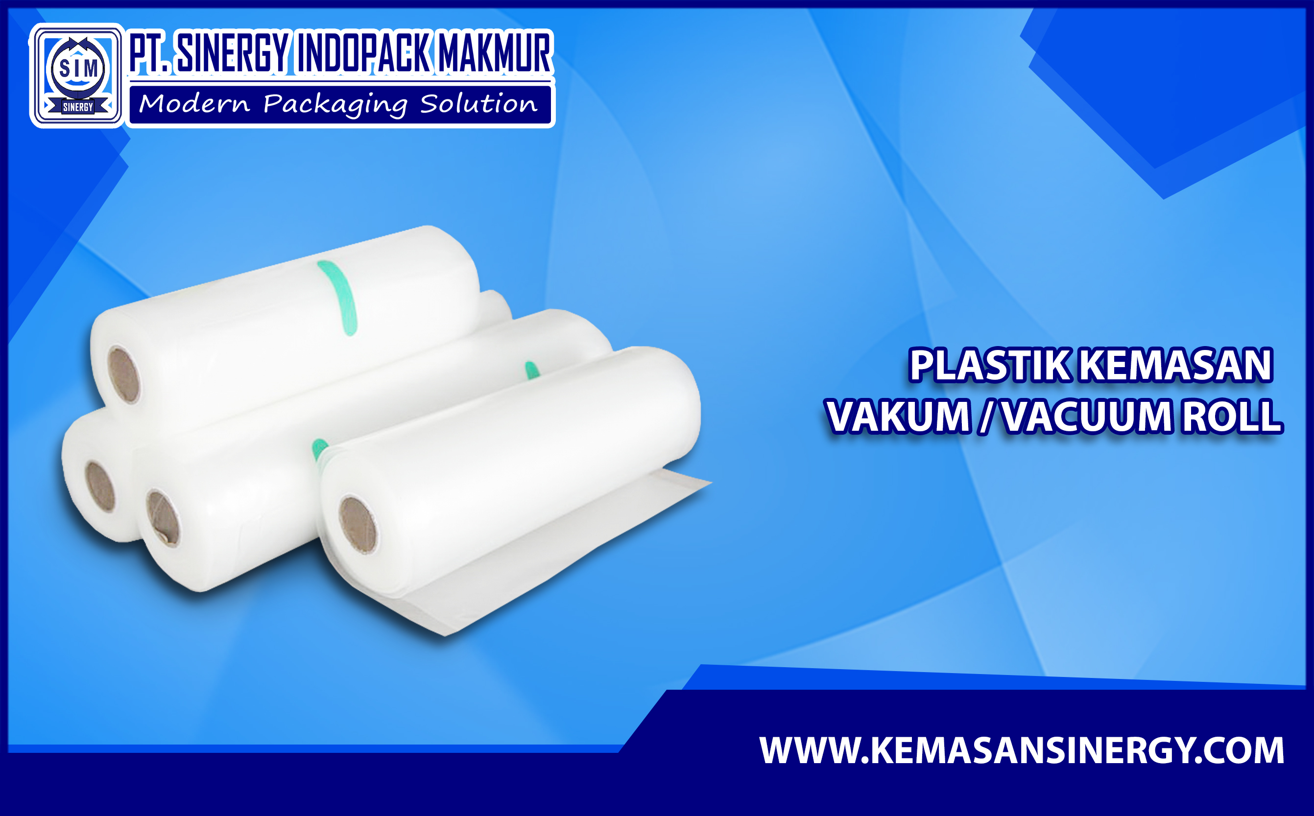 Kemasan Vakum Roll (Vacuum Bag Roll)