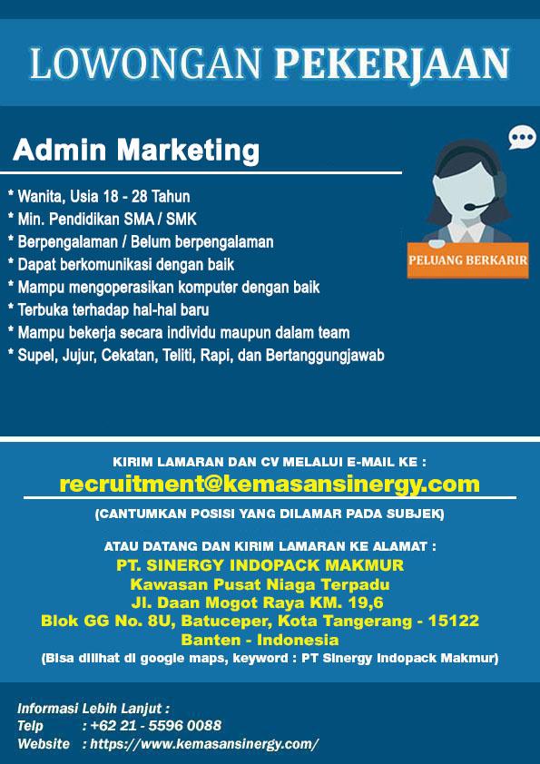 Lowongan Kerja Manager Marketing