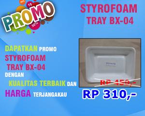 Promo Styrofoam Bx04